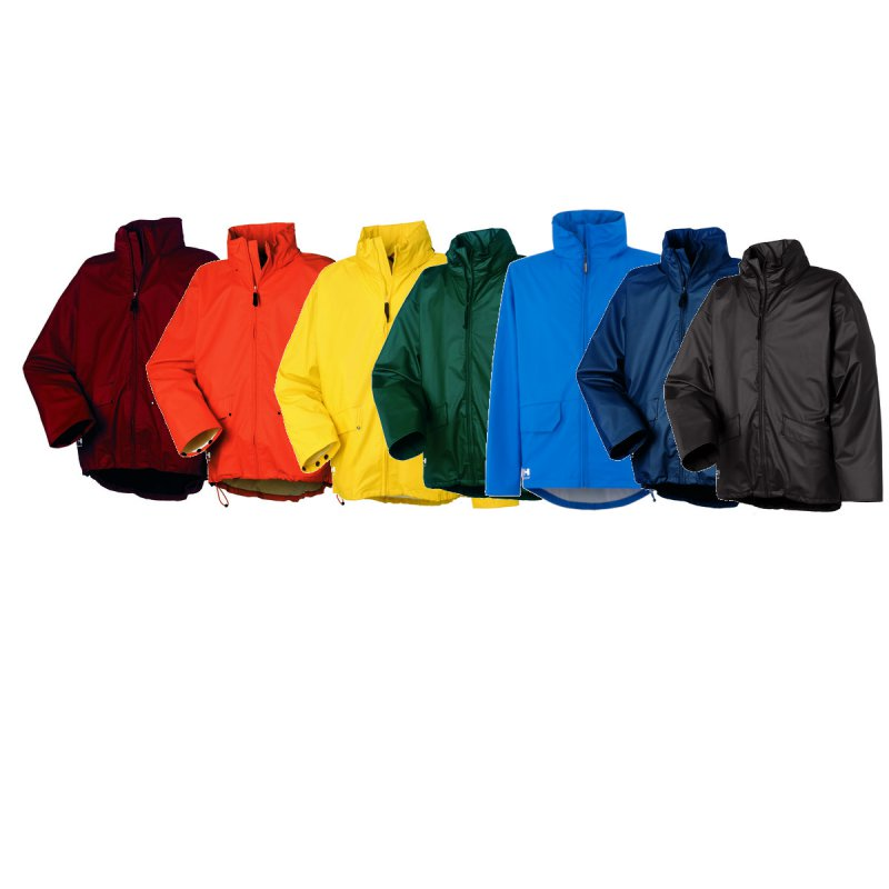 Blau 3XL 70212 Helly Hansen Workwear Regenjacke wasserdicht Voss Jacket