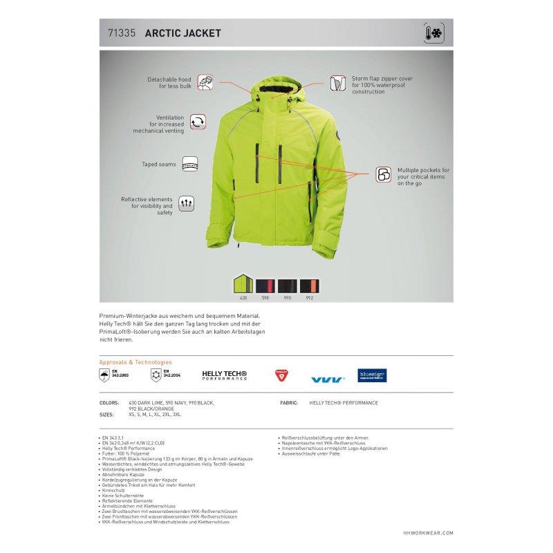 f53c142a5698bb Premium-Winterjacke-ARCTIC JACKET Helly Hansen, günstig kaufen